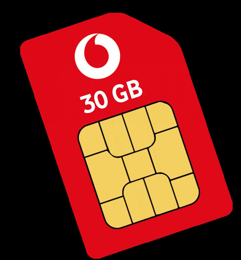 Simkarte 12 GB LTE